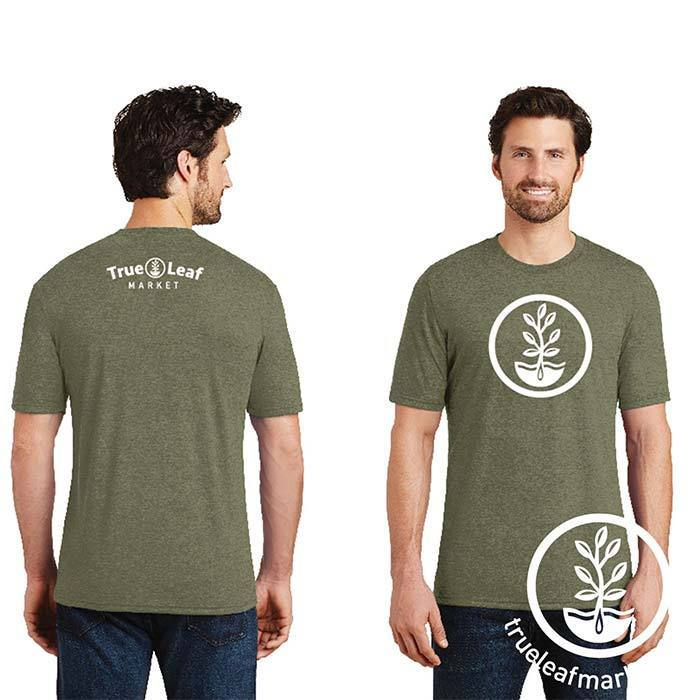 True Leaf Market t-shirt - Men's Military Green