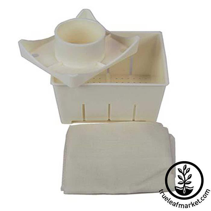 Plastic Tofu Press & Cheesecloth