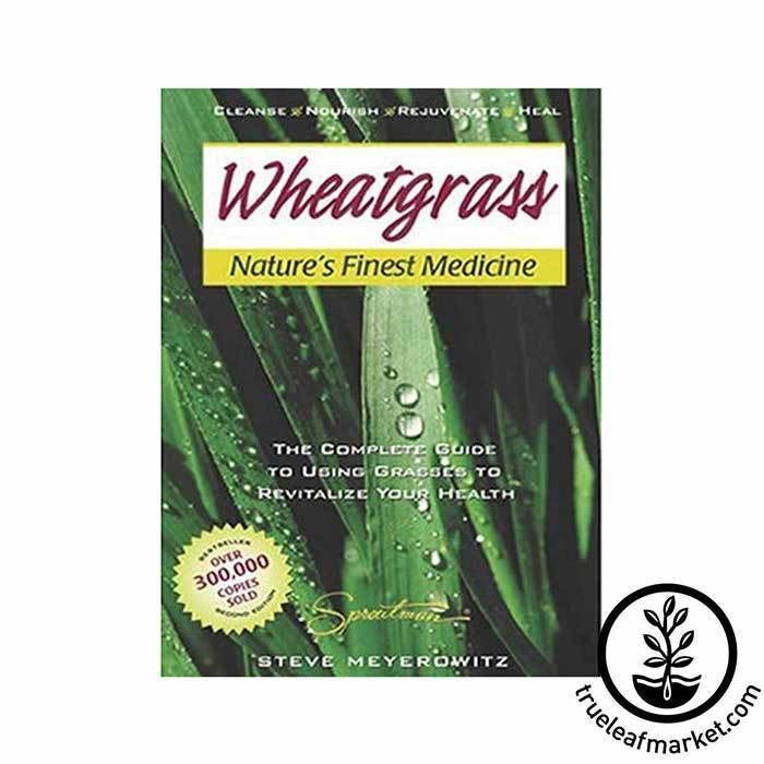 Wheatgrass Nature's Finest Medicine Book