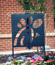 Exterior Corten Steel Sign, Large