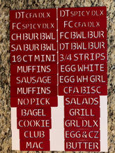 Magnetic Food Label - Individual Tags - Click here to add individual Tags