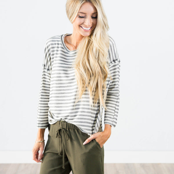 Amanda Stripe Sweater