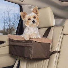 Boosting your dog's outlook when traveling can help with motion sickness