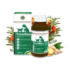 TravelEze-a natural remedy to help with travel sickness in pets
