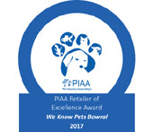 Winner of the  PIAA Retailer of Excellence Award, 2017