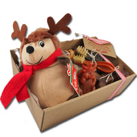 Christmas pet gift hampers, prices starting from $29.95. A We Know Pets exclusive!