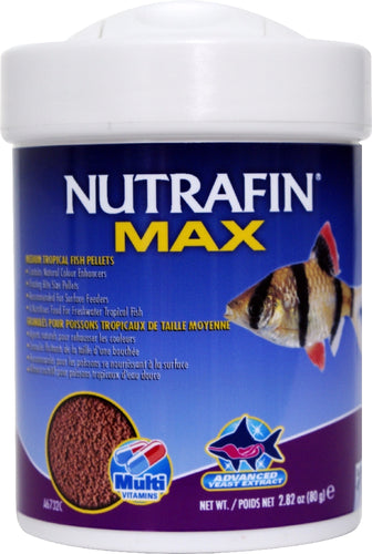 Nutrafin Max tropical Granules small 80g