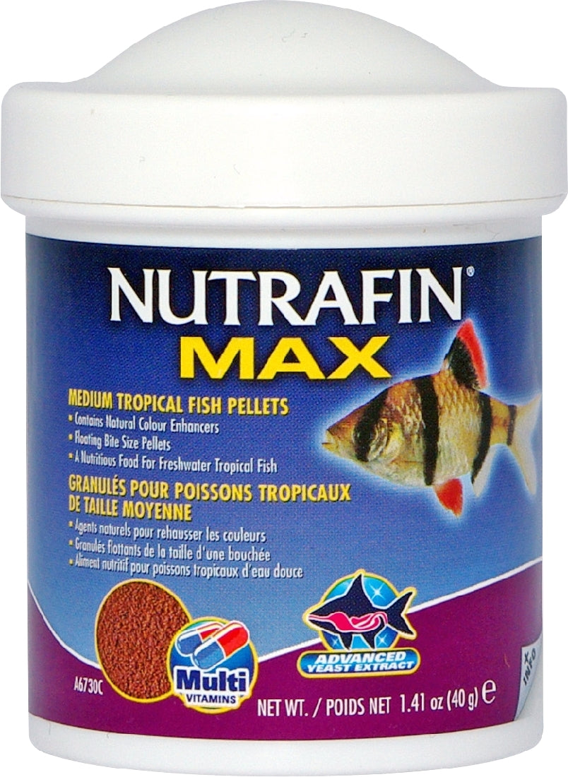Nutrafin Max Tropical Granules Medium 40g