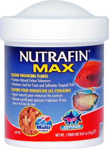 Nutrafin Max Tropical Colour Enhancing flakes19g