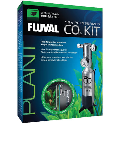 Fluval Pessurized Co2 Kit 95Gm