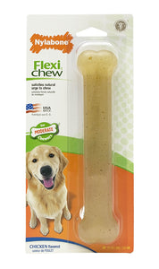 Nylabone FlexiChew Chicken Bone on Card - Giant