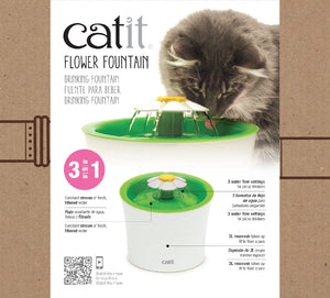 Cat It Senses Flower Water Fountain 3Ltr