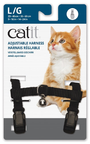 Cat It Harness Black Large