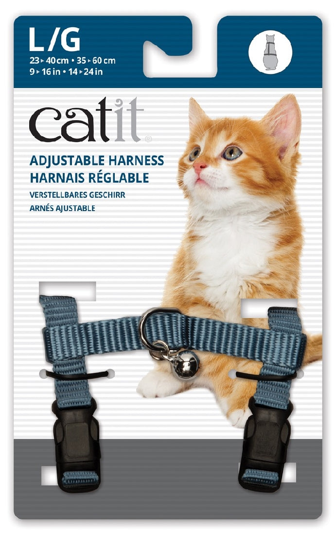 Cat It Harness Blue Large