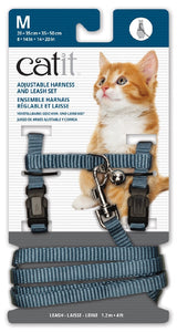 Cat It Harness and Lead Blue Medium