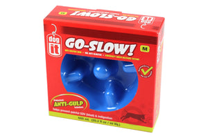 Anti Gulping Bowl Blue 600ml