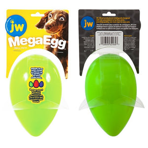 Jw Mega Egg Small (12.5cm X 8cm) Green