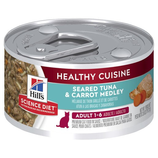 Science Diet Cat Adult Healthy Cuisine Tuna 79g