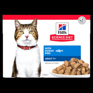 Science Diet Cat Mature 7+ Ocean Fish 85G POUCH