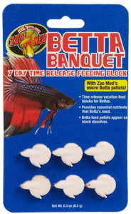 Zoomed Betta Banquet Block (holiday feeder) 6 blocks per card