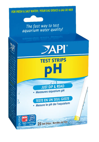 API Ph Testing Strips 25Pk