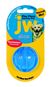 Jw Playplace Squeaky Ball Small (Asstd Colours)