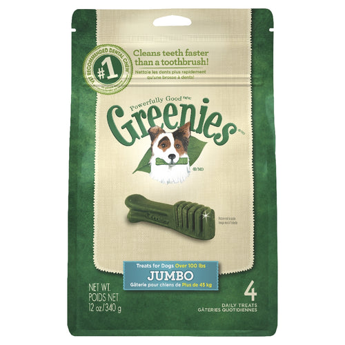 Greenies Mint Treat Pack Jumbo 340g