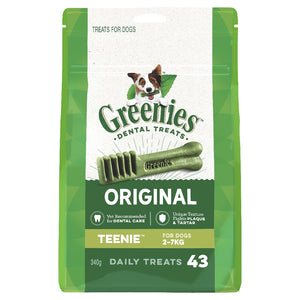 Greenies Original Treat Pack Teenie 43 pack 340g