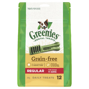 Greenies Grain Free Treat pack regular 340g
