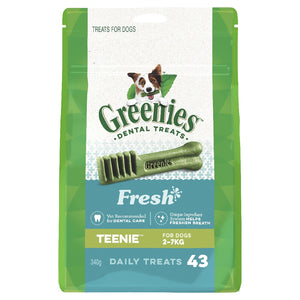 Greenies Mint Treat Pack Teenie 43 pack 340g