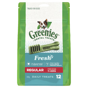 Greenies Mint Treat Pack Regular 12pack 340g