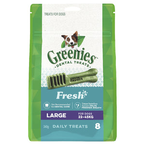 Greenies Mint Treat Pack large 8 pack 340g