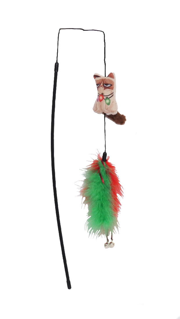 Grumpy Cat Grumpy With Lights Collar Wand
