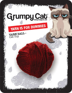 Grumpy Cat Yarn Ball For Dummies