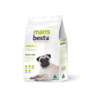 Man's Best Premium Adult Chicken Grain Free 2kg