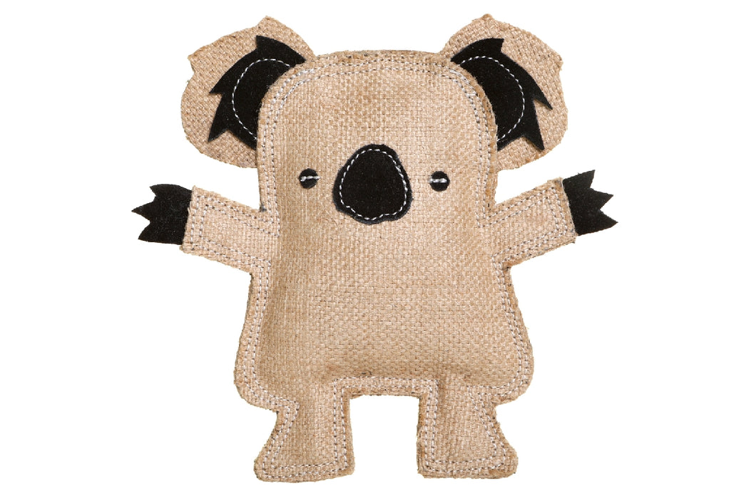 Outtback Tails Kevin the Koala Jute Chew Toy