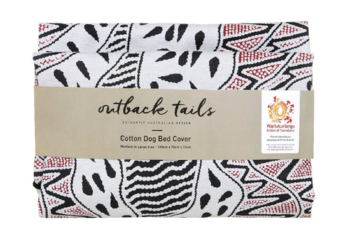 Outback Tails Bed Cover - Vaughn Springs (Black And Red)