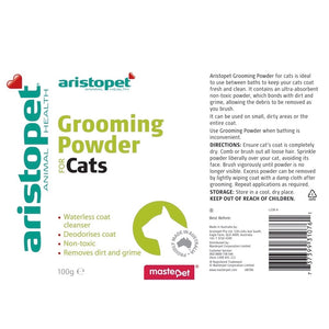 Aristopet Grooming Powder For Cats 100g