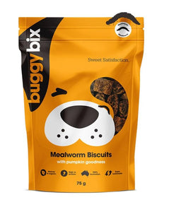 Buggy Bix Mealworm Biscuit Treats 75g