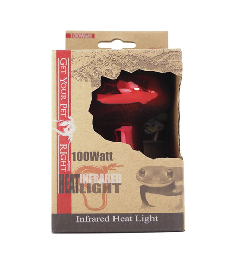 Get Your Pet Right 100 Watt Infrared Basking Light