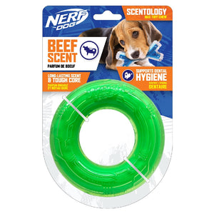 Nerf Scentology Ring - Beef Clear/Green 12.5 cm.