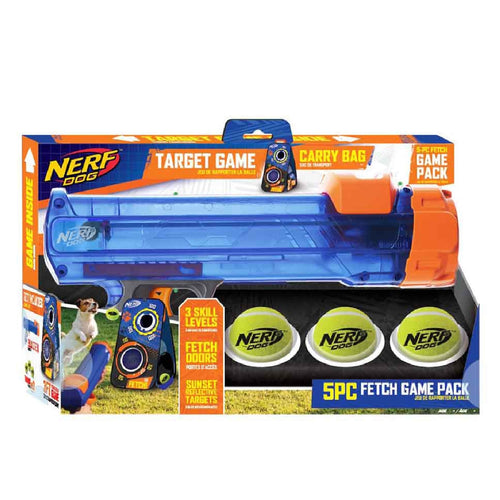 NERF Blaster Target Game Set with 3 Balls