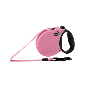 Alcott Adventure retractable leash 4.8 m Pink Small