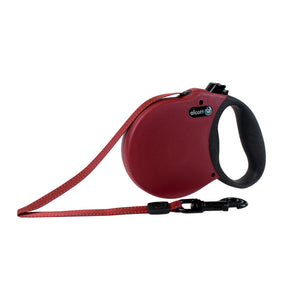 Alcott Adventure retractable leash 5m Red Medium