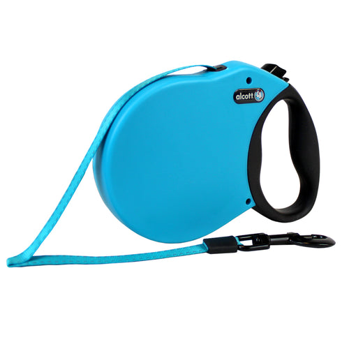 Alcott Adventure retractable leash 6.5 m Blue Xlarge
