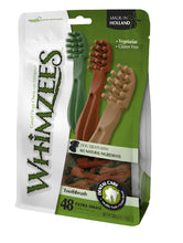 Whimzees Toothbrush XSmall Pack of 48 360gm