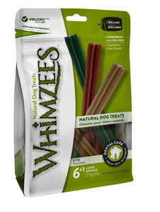 Whimzees Stix Large stand up bag of 7 420gm