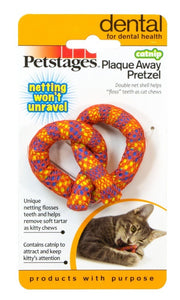 Pet Stages Catnip Plaque Away Pretzel