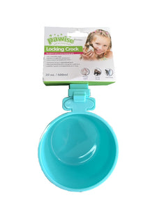 Paw Wise - Locking Crock Bowl - 0.60 Litre