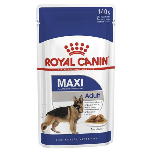 Royal Canin Maxi Adult Wet Dog Food Pouch Single 140g